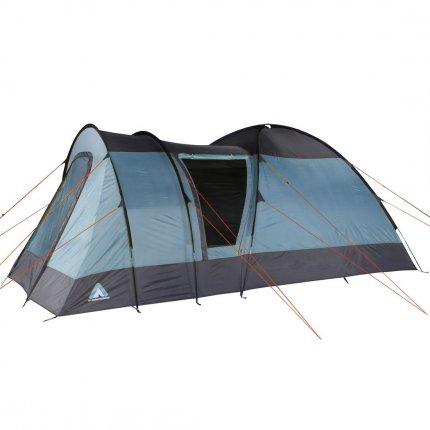 10T Rom 4 - 4 Personen Kuppelzelt, Campingzelt mit riesiger 8,6 m² XXL Schlafkabine, wasserdichtes Trekking Zelt mit