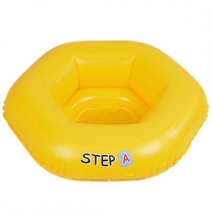 Jilong baby seat - aufblasbarer Schwimmsitz für Babys bis 11kg mit 3 Sicherheits-Luftkammern