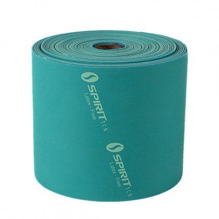 Spirit LatexFREE Flatband medium - Fitnessband, 22,8m Rolle, Gymnastikband, latexfrei, 20-30lbs/9-13,5kg