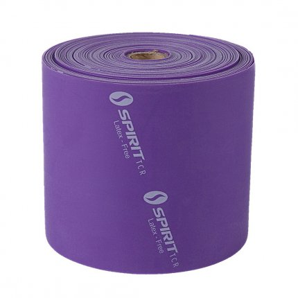 Spirit LatexFREE Flatband heavy - Fitnessband, 22,8m Rolle, Gymnastikband, latexfrei, 30-40lbs/13,5-18kg