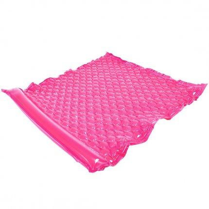 Jilong Wave Mat Duo Pink 218x183cm Schwimmmatte 2 Mann Luftmatratze Strandmatte Poolliege Wasserliege